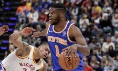 'Knicks' basketbolisti Mudieja debijā zaudē 'Pacers' komandai