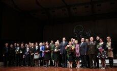 Apbalvoti grāmatu mākslas konkursa 'Zelta ābele 2014' laureāti