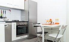 Virtuvē visomulīgāk – idejas pavisam nelieliem ēdamgaldiem