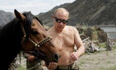 Krievijā turpinās 'Putina mānija' – sāk ražot arī smaržas