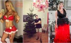 Foto: Kā latviešu slavenības pošas Ziemassvētkiem
