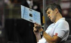 Latvijas basketbola izlase pārbaudes spēlē zaudē serbiem