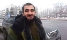 Kaukāziešu karotāji Doņeckas centrā pieprasa izdot kaujinieku, lai sodītu viņu ar nāvi