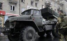 'Grad' apšaudes: Doņeckas iedzīvotājus izmanto par dzīvo vairogu, secina 'Bellingcat'