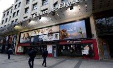 Parīzes terora aktu ēnā atceļ televīzijas seriālu izrādīšanu un kino pirmizrādes