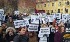 Ar dejas performanci protestēs pret RPIVA likvidēšanu