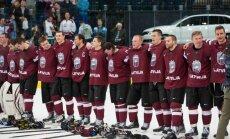 Latvijas hokejisti ar vēl vienu 'trilleri' sagādā kārtējo pārsteigumu