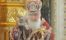 Arī rudenī pārceltā patriarha Kirila vizīte Rīgā nenotiks