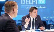 'Trampa kliegšana un ekonomikas gigants' – soctīklotāji apspriež 'KPV LV' diskusiju ar Domburu