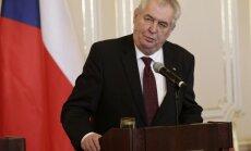 Čehijas prezidents: Turcija šantažē ES