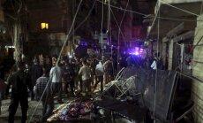 Sprādzienā Beirūtā daudz bojāgājušo