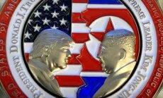 Par godu Trampa-Kima samitam izgatavotas īpašas monētas