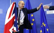 'Brexit' ir rezultāts gadiem ilgušai vainas uzvelšanai ES, paziņo Malmstrēma