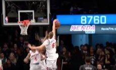 Video: Porziņģis izceļas ar divām epizodēm NBA sezonas bloķēto metienu TOP 50