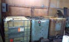Ķekavas novadā atsavina 1000 litrus nelikumīgas dīzeļdegvielas