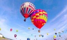 Video: Francijā debesīs paceļas rekordliels skaits gaisa balonu