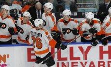 Girgensona pārstāvētā 'Sabres' piekāpjas 'Flyers'