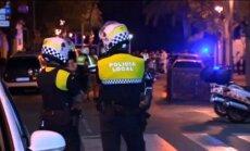 Otrā iespējamā teroraktā netālu no Barselonas ievainoti septiņi cilvēki (plkst. 10.30)