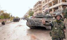 Mediji: šonedēļ varētu sākties ASV un Lielbritānijas uzbrukums Sīrijai