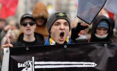 Foto: Kā Maskavā atzīmē Nacionālās vienotības dienu