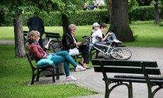 В Верманском саду открыт парк хоровой олимпиады и ярмарка рижских товаров