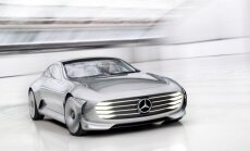 'Mercedes-Benz' izstrādājis 'aerodinamikas čempionu'