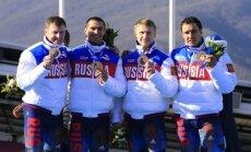 Diskvalificētie Krievijas sportisti negrasās atdot Soču olimpisko spēļu medaļas
