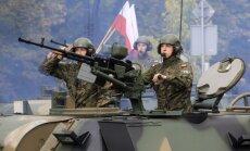 Polija uz Baltijas valstīm nosūtīs karavīru rotu