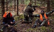 Drošības policija pastiprināti pārbauda militāro simulāciju spēļu dalībniekus