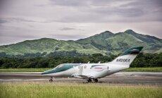 Sešvietīgā 'Honda' reaktīvā lidmašīna sasniegusi divus ātruma rekordus