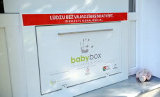 В Елгаве в бэби-боксе оставлена новорожденная девочка