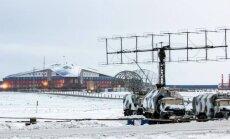 Foto: Krievija Arktikā būvē iespaidīgas karabāzes un lidlaukus
