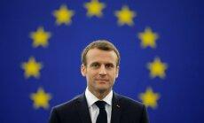 Rinkēvičs: Latviju varētu apmeklēt Francijas prezidents Emanuels Makrons