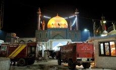 'Daesh' uzbrukumā sūfiju svētnīcai Pakistānā desmitiem nogalināto