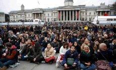 Londonā tūkstoši pulcējušies uz 'Oskaru' protesta seansu