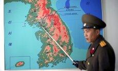 Ziemeļkoreja draud uzbrukt Dienvidkorejai un ASV jebkuras provokācijas gadījumā