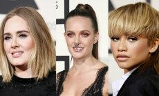 Foto: Zvaigznes tuvplānā – 'Grammy' labākais grims un frizūras