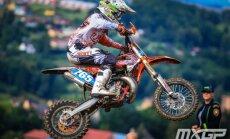 Jaunais motokrosa braucējs Bidzāns kļūst par Eiropas čempionu