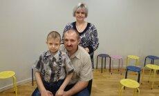 Agnese un Valērijs – aknu donori saviem bērniem – sevi par varoņiem neuzskata