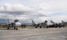 Aktīvisti: Krievijas uzlidojumos Sīrijā gājuši bojā 1700 civiliedzīvotāji