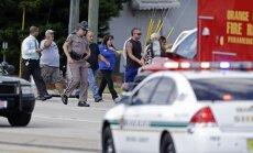 ASV automašīna ietriekusies bērnudārzā; viens bojāgājušais un 14 ievainotie