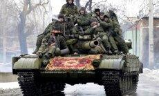 Prokrieviskie teroristi daļēji ieņēmuši Doņeckas apgabala pilsētu