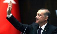 Vizīti Latvijā sāks jaunievēlētais Turcijas prezidents Erdogans; daudzviet ierobežos satiksmi