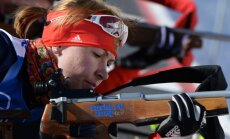 Российскую биатлонистку временно отстранили от гонок на чемпионате мира