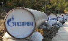 EK trešdien varētu izvirzīt koncernam 'Gazprom' oficiālas apsūdzības