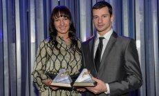 Par 2013. gada Latvijas labākajiem sportistiem atzīti Martins Dukurs un Anastasija Grigorjeva