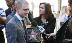 Harijs Poters beidzot tiek pie zvaigznes Holivudā