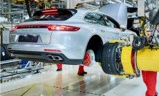 Uzsākta jaunā 'Porsche Panamera Sport Turismo' modeļa ražošana