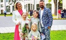 Trīs meitu tēvs Simsons: mūsu ģimenē 1. septembris nav zobu sāpes