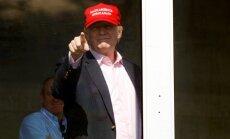 Amerikāņu atbalsts Trampam sarucis līdz 36%, liecina aptauja